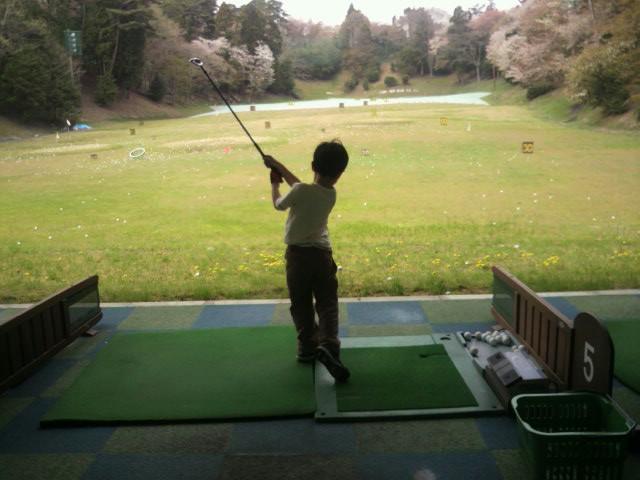 ちびゴルファ〜。